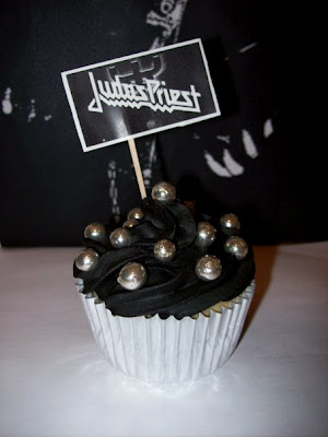 Judas Priest Hellbent for cupcakes closeup